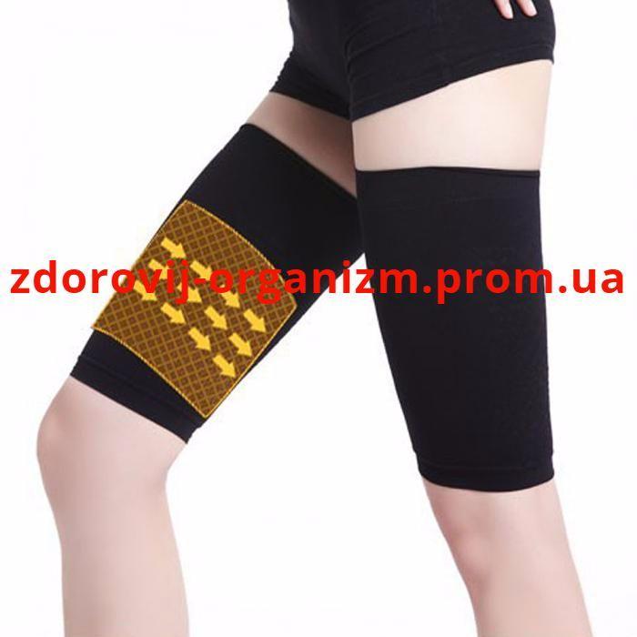 Турмалиновый массажер эластичный (леггинсы) для снижения веса в бедрах