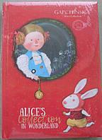 """Ежедневник\щоденник недатированый А5 Alice's, красный, серия """"Агенда"""" """"Brunnen"""""""