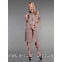 Платье из тонкого вискозного габардина