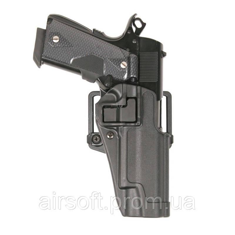 Тактическая кобура в стиле BLACKHAWK Colt 1911 Black