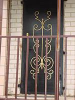 Двери с художественной ковкой 2