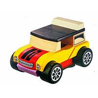 Игрушка деревянная Машинка Мини-Кабриолет LM-3/12060