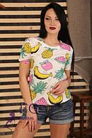 Трикотажная футболка от 42-  46 размера