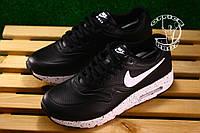 Спортивные кроссовки Nike Air Max 87 - Черно белые