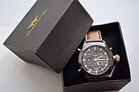 Часы мужские наручные AMST Biden+фирменная коробка в подарок brown-black