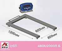 Весы паллетные Axis 4BDU2000П-Б