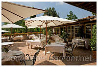 Зонт для кафе профессиональный прямоугольный 3х4м