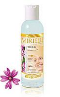 Тоник безалкогольный для всех типов кожи сияние и гладкость Mirielle