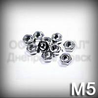 Гайка М5 ГОСТ 5927-70 (ГОСТ 5915-70, DIN 934, ISO 4032,8673) оцинкованная