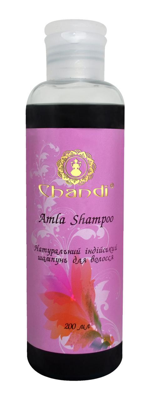 """Натуральный индийский шампунь """"Амла"""" Chandi 200 мл"""