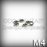 Гайка М4 низкая ГОСТ 5929-70 (ГОСТ 5916-70, DIN 439, ISO 4035,4036,8675) оцинкованная