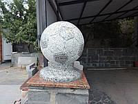 Различные изделия из гранита (шары,столбы,вазы ,оградки)