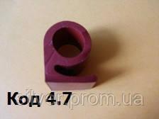 Уплотнитель термостойкий Б-образный 25мм