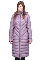 Пальто с отстежным капюшоном на кулиске
