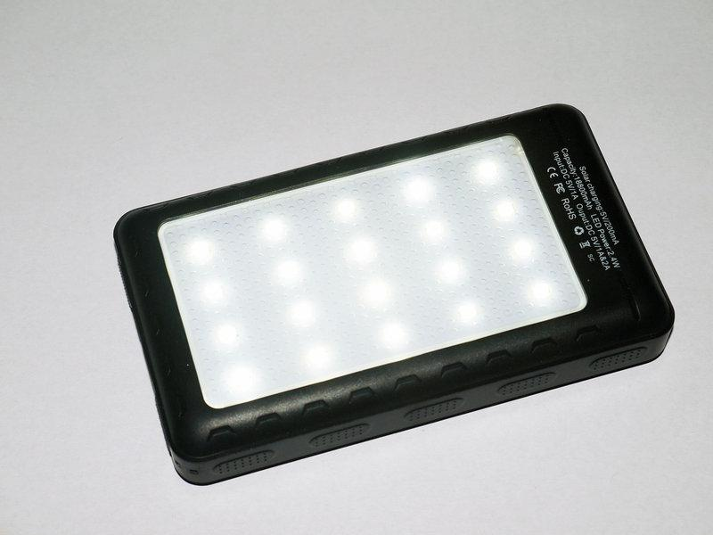 Зарядное устройство UKC 18800 mAh Solar