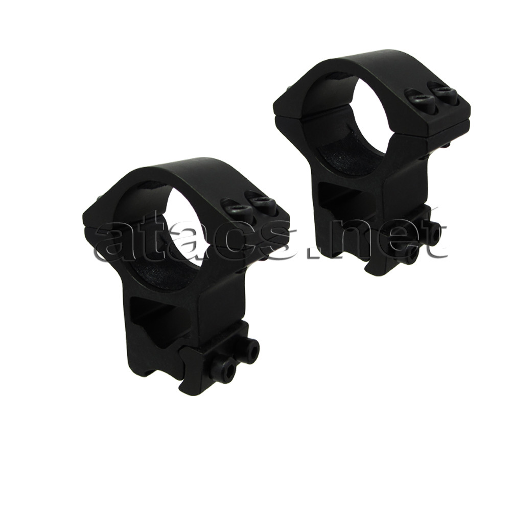 Кріплення для установки оптичного прицілу (кільця, високі, 4 болта)
