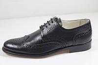 Итальянские мужские туфли броги  41 размер 27,5 см