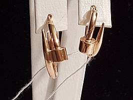 Золотые серьги. Артикул 105191