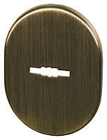 Декоративная накладка под сувальдный ключ Fuaro ESC 475 AB бронза (Китай)