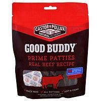 Castor & Pollux, Good Buddy, котлетки для перекуса, продукт из настоящей говядины, 4 унции (113 г)
