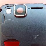 Fly iq4490i середня частина корпуса корпус чорний скло камери, фото 2