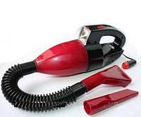 Автомобильный пылесос с фонарем авто пылесос
