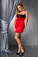 Эротическая сорочка большого размера Passion LENA CHEMISE красная