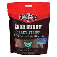 Castor & Pollux, Good Buddy, полоски из вяленого мяса, продукт из настоящей курицы, 4,5 унции (127 г)