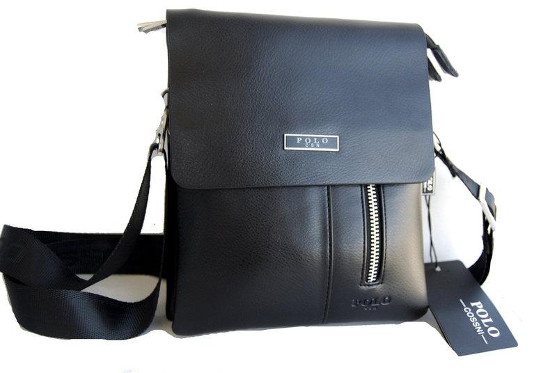 Мужская сумка - планшет Polo с ручкой. Сумка Polo. Стильные мужские сумки
