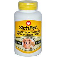 Actipet, Формула защиты мочеиспускательного тракта с экстрактом клюквы, для собак и кошек, 67,5 г, порошок