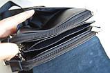 Мужская сумка - планшет Polo с ручкой. Сумка Polo. Стильные мужские сумки, фото 7