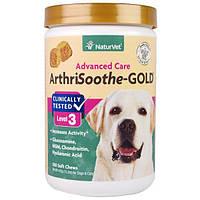 NaturVet, ArthriSoothe-GOLD, профессиональный уход, уровень 3, 180 мягких подушечек, 15.2 унций (432 г)