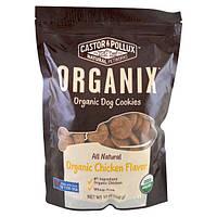Castor & Pollux, Organix, органическое печенье для собак, с ароматом курицы, 12 унций (340 г)