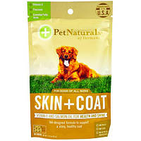 Pet Naturals of Vermont, Кожа + мех, для собак, 30 жевательных таблеток, 2,12 унции (60 г)