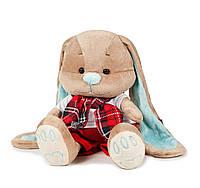 Зайчик Жак в красных штанишках и шарфике, 25 смJack&Lin (JL-011-25)