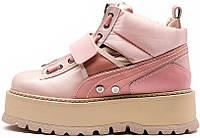 Женские кроссовки Fenty x Puma Boots Pink