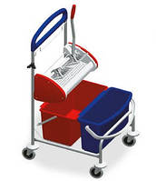 Clino ST1 - Тележка для уборки офисов, гостиниц, клиник, ресторанов