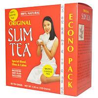 Hobe Labs, Чай для похудения Slim Tea, оригинальный, 60 пакетиков, 4,20 унции (120 г)