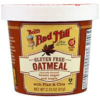 Bobs Red Mill, Oatmeal, Brown Sugar and Maple, 2.15 oz (61 g)
