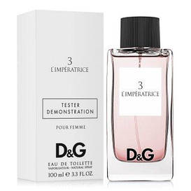 Dolce & Gabbana Anthology L`Imperatrice 3 Туалетная вода 100 мл TESTER