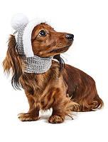 Шапка зимняя АЛЯСКА M для собаки (26-30 см, 5-7,5 кг), цвета разные