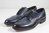 Итальянские мужские туфли броги  40 размер 26,5 см