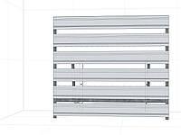 Экран и основа для кондиционера 850х950