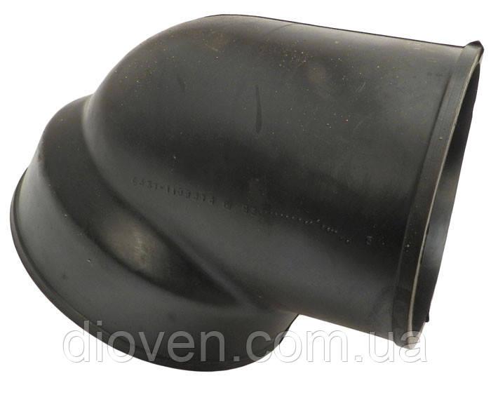 Угольник воздухозаборника КРАЗ (патрубок косой усиленный, ∠60° d-125/150mm) (Арт. 65055-1109474)
