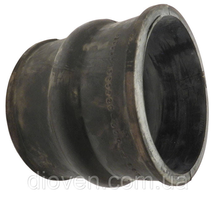 Патрубок интеркулера КРАЗ (90х98-100 большой, черный) (Арт. 65055-1323220-000)