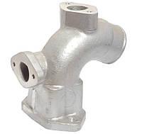 Патрубок радиатора КРАЗ распред. алюмин. (Арт. 65055-1303016)