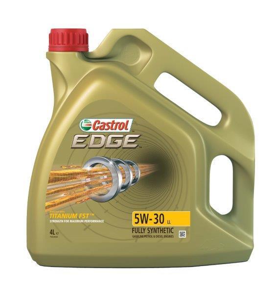 Моторное масло Castrol EDGE (Кастрол) 5w-30 LL 4л