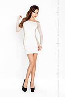 Эротическое платье чулок Passion BS025 белое