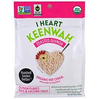 I Heart Keenwah, Жареная киноа, Органическая каша, Хлопья киноа, овсянка и лукума, 9 унций (255 г)