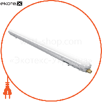 Lezard Светильник светодиодный пылевлагозащищенный ІР65 18Вт 6000K  1400lm 600mm (PC+ABS)